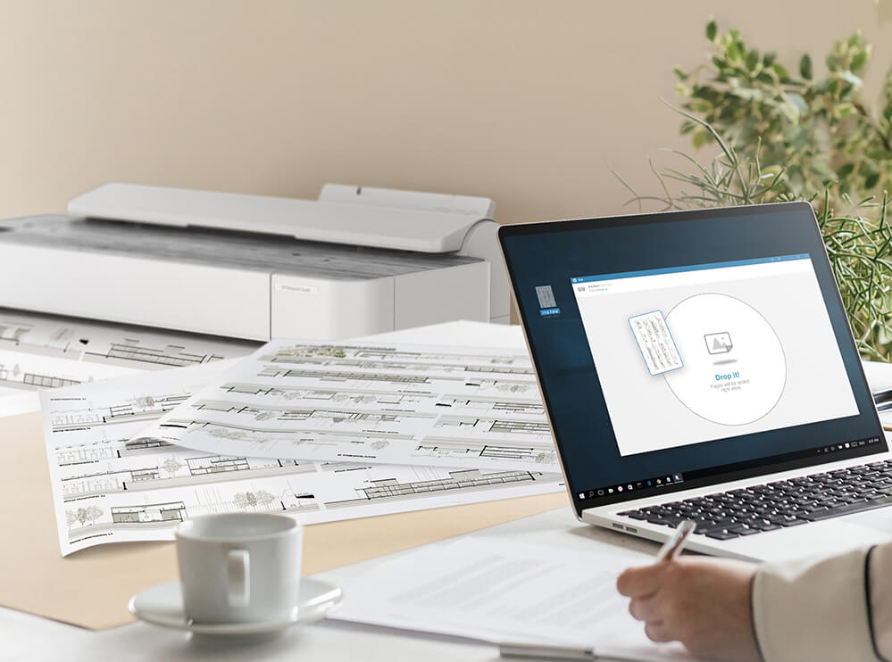Design meets performance in HP's easiest plotter