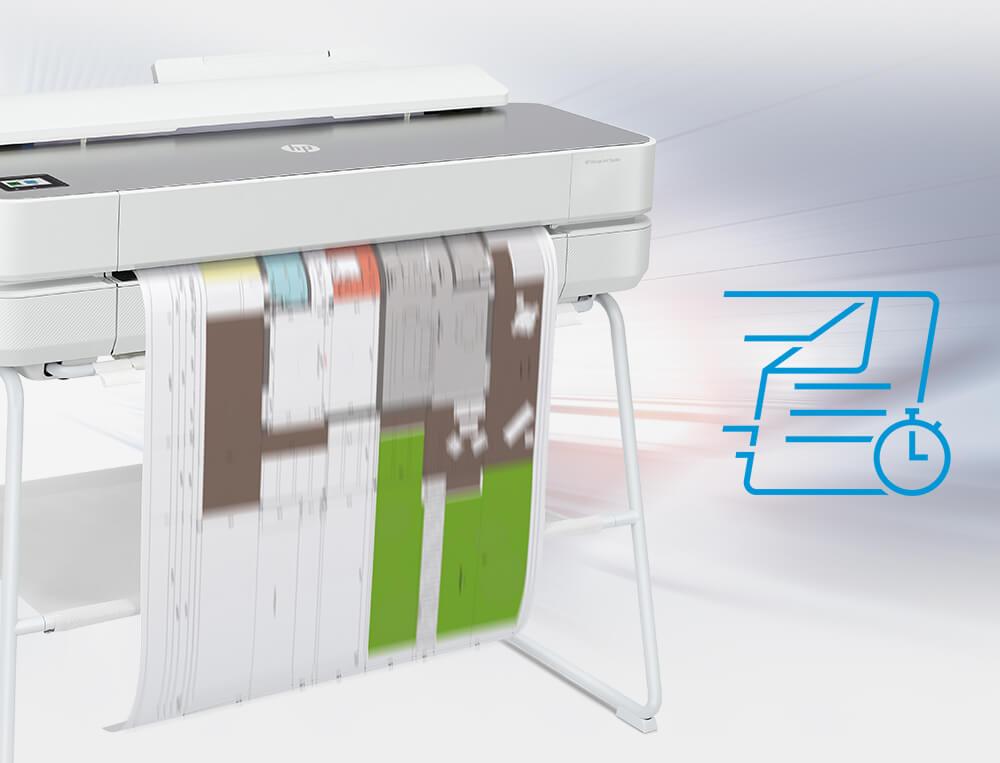 High-speed printing